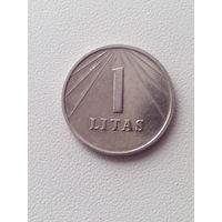 1 лит 1991 год. Литва.