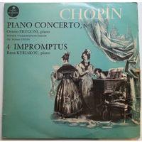 LP CHOPIN - Piano Concerto #1, 4 Impromptus (1965)