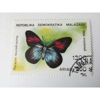 Мадагаскар 1992. Бабочки
