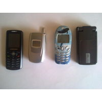 Телефоны SAMSUNG SGH-E200, SAMSUNG SGHS500, SIEMENS A57, NOKIA 6260.