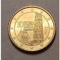 10 евроцентов, Австрия 2017 г., UNC