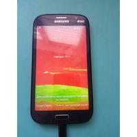 Смартфон Samsung gt-i9060, был заменен тачскрин на китайский от duos, тач не  заработал, батареи нет, вздулась, выкинута - 23р.