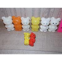 Мишки СССР, медведи- игрушки СССР
