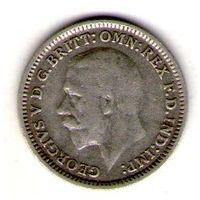 Великобритания 3 пенса 1932 года.