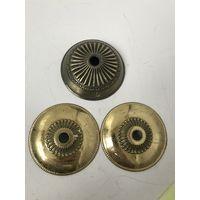 Деталь, часть, декоративный элемент от люстры, бра, подсвечника Цена за 1 Латунь/бронза