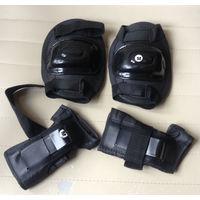 Защитные наколенники, налокотники новые размер M