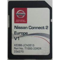 NISSAN CONNECT 2 SD KARTE MAP 2016 V1 EUROPE LCN2 KE288-LCNKEV2 NEU