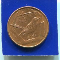 Каймановы острова 1 цент 1996