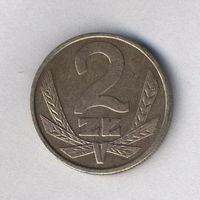 Польша, 2 злотых 1980 г.