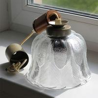 Светильник со стеклянным плафоном