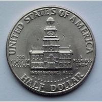США 1/2 доллара. 1976. D. 200 лет независимости США