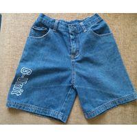 Шорты джинсовые р.122-128 см