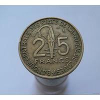 25 франков 1971 Западная Африка