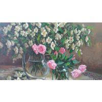 Жасмин и розы