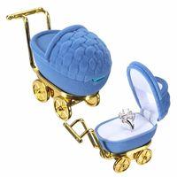 "Футляр-коробка для кольца ""Детская коляска"". распродажа"