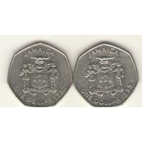 1 доллар 1995, 1999 г.