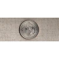 США 25 центов 2015/парки/ автомагистраль Блу Ридж Северная Каролина(Ab)