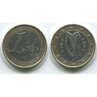 Ирландия. 1 евро (2002)