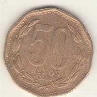 50 песо 2006 г.