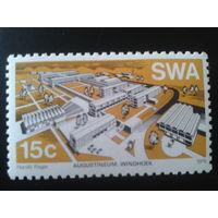 Юго-западная Африка 1976 совр. архитектура