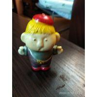 Детская игрушка из колкой пластмассы Карлсон СССР.