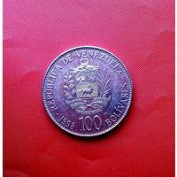 81-28 Венесуэла, 100 боливаров 1998 г.