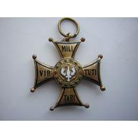 """Военный орден """"Виртути Милитари"""" IV класс (Польша,1920-30 гг.)"""