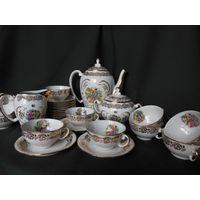 Чайный сервиз на 12 персон, 27 предметов, Франция 60-е годы.