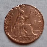 1 пенни, Великобритания 1940 г., Георг VI