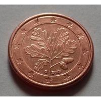 5 евроцентов, Германия 2007 G, AU