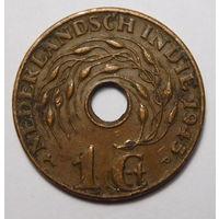 Нидерландская Индия. 1 цент 1945 г.