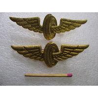 Фрачник. Нагрудный знак МПС (в золоте). цена за 1 шт.