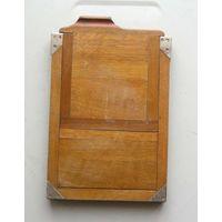 Кассета для фотопластинок деревянная для форматной фотокамеры 13х18 см на запчасти вид 2
