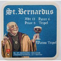 Подставка под пиво St. Bernardus /Бельгия/