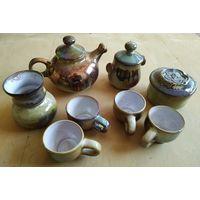 Сервиз чайный, керамика