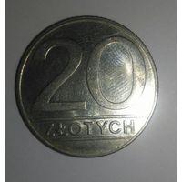 20 злотых 1989, Польша