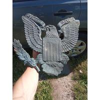 Медный американский орёл с посольства в Москве, редкий, большой размер распродажа
