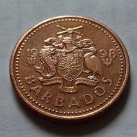 1 цент, Барбадос 1998 г.