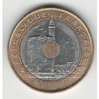 Франция 20 франков 1993 года. Cостояние аUNC!