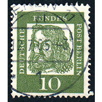124: Германия (Западный Берлин), почтовая марка, 1961 год