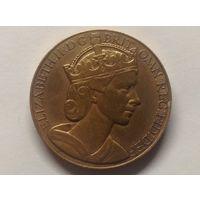 Медаль Коронация Елизаветы 2