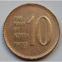 Южная Корея 10 вон, 1970 г.