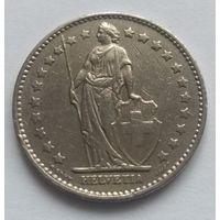 Швейцария, 1 франк 1976 год.