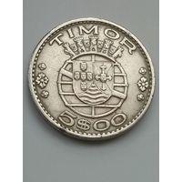 Тимор 5 эскудо 1970