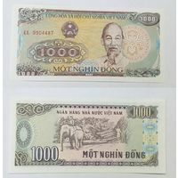 Вьетнам 1000 донг образца 1998 года UNC