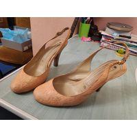 Туфли Gianmarco Lorenzi, Italie нежно-персикового цвета