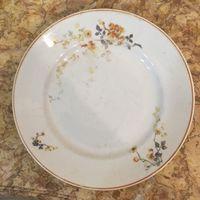 Тарелка фарфоровая Яблоневый цвет, Дулево