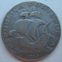 Португалия 2,5 эскудо 1944 г. (d)