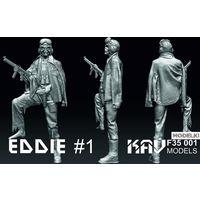 Фигура Eddie #1, сборная модель 1/35 KAV models F35 001