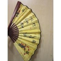 Веер китайский винтажный